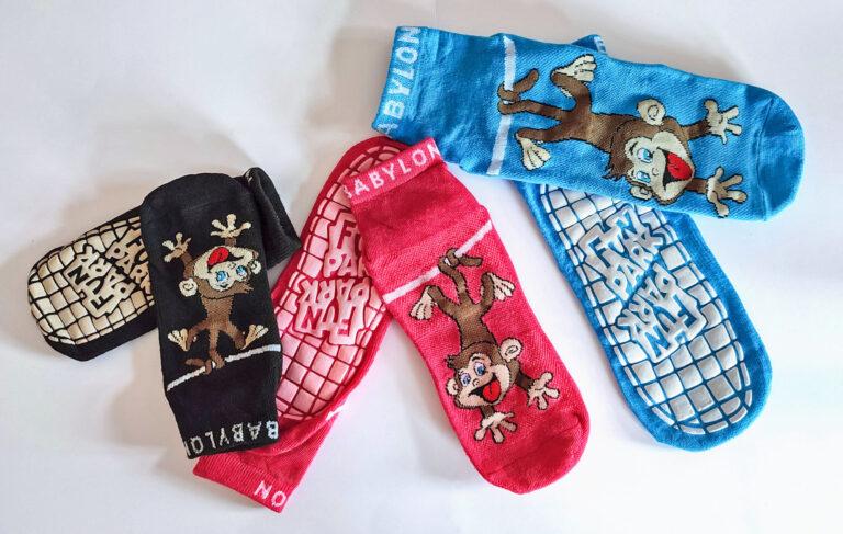 Lustige Socken für die Beinchen